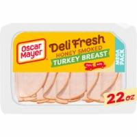 Oscar Mayer Deli Fresh Honey Smoked Turkey Breast Lunch Meat - 22 oz
