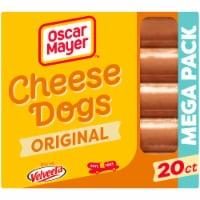 Oscar Mayer Uncured Velveeta Cheese Dogs - 20 ct / 32 oz