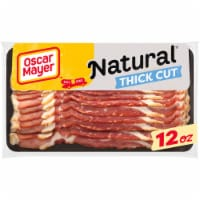 Oscar Mayer Natural Gluten Free Thick Cut Smoked Uncured Bacon - 12 oz