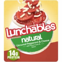 Lunchables Natural Pepperoni and Cheese Pizza