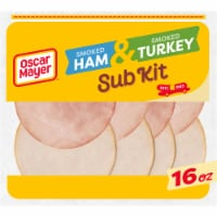 Oscar Mayer Smoked Ham & Turkey Sub Kit