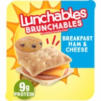 Lunchables Brunchables Breakfast Ham & Cheese