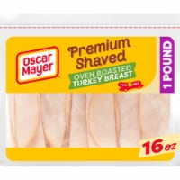 Oscar Mayer Premium Shaved Oven Roasted Turkey Breast - 16 oz