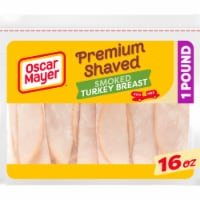Oscar Mayer Premium Shaved Smoked Turkey Breast Lunch Meat