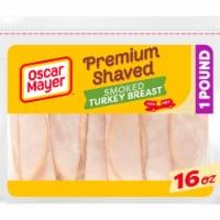 Oscar Mayer Premium Shaved Smoked Turkey Breast