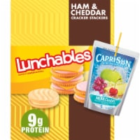 Lunchables Ham and Cheddar Cracker Stackers