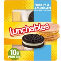 Lunchables Lunch Combinations Turkey & American Cracker Stackers Convenience Meal