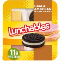 Lunchables Ham & American Cracker Stackers Lunch Pack