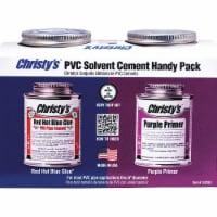 Christy's Primer,Blue Glue and Purple Primer,8 oz.  RH-RHBV-HDYPK-HP-20 - 1
