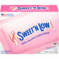 Sweet'N Low Zero Calorie Sweetener Packets