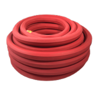Flexon 3/4 x 50ft Heavy Duty Premium Rubber Hot Water Garden Hose
