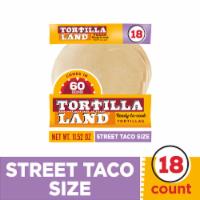 Tortilla Land Ready-to-Cook Street Taco Flour Tortillas
