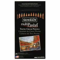 General's Multi Pastel Chalk Pencils