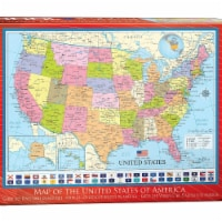 Eurographics 30377025 Map of the United States Puzzle - 1000 Piece