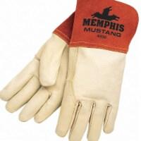 Mcr Safety Welding Gloves,MIG, TIG,M/8,PR  4950M - 1