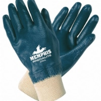 "Mcr Safety Coated Gloves,Full,XL,11"",PR  9781XL"