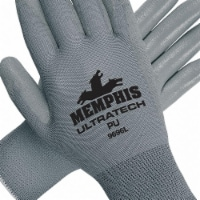 Mcr Safety Coated Gloves,Nylon,XS,PR  9696XS