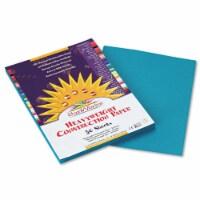 Sunworks Construction Paper, 58lb, 9 X 12, Turquoise, 50/Pack 7703 - 1
