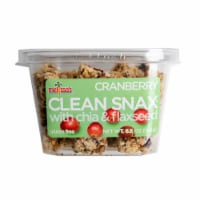 Mellissa's Cranberry Clean Snax with Chia & Flaxseed (Approximate Delivery 3-6 Days)