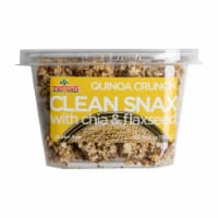 Melissa's Clean Snax Quinoa Crunch with Chia and Flaxseed (Approximate Delivery is 3-5 Days)
