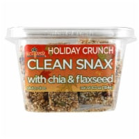 Melissa's Holiday Crunch Clean Snax with Chia & Flaxseed (Approximate Delivery 3-5 Days)