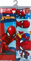 Marvel Ultimate Spider-Man Boys' Cotton Briefs - 5 Pack