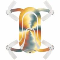 MightySkins ZEDOPO-Eye Of The Storm Skin for Zerotech Dobby Pocket Drone - Eye of the Storm