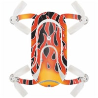 MightySkins ZEDOPO-Hot Flames Skin for Zerotech Dobby Pocket Drone - Hot Flames - 1