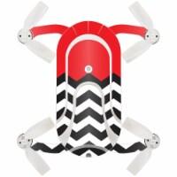 MightySkins ZEDOPO-Red Chevron Skin for Zerotech Dobby Pocket Drone - Red Chevron