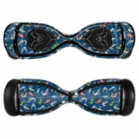 MightySkins SWT5-Saltwater Compass Skin Decal Wrap for Swagtron T5 Hover Board - Saltwater Co