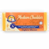 Wisconsin Cheese Steve's Cheese Medium Cheddar Loaf - 8 oz