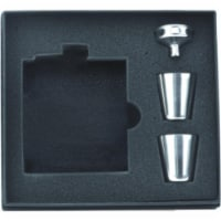FJX Wholesale 6oz Flask Set in Gift Box