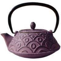 Old Dutch International 1013GW Greek Wine Cast Iron Kyoto Teapot 26 Oz. - 1