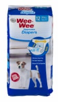Four Paws Wee-Wee Small Disposable Diapers - 12 CT