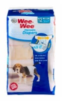 Four Paws Wee-Wee Medium Disposable Diapers