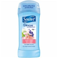 Suave Sweet Pea & Violet 24 Hour Protection Invisible Solid Deodorant - 2.6 oz