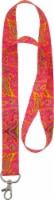 Hillman Lanyard - Pink Paisley - 1 ct