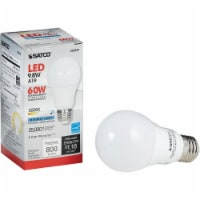 Satco 60W Equivalent Natural Light A19 Medium Dimmable LED Light Bulb S29839