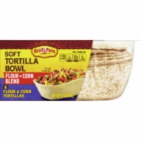 Old El Paso Flour & Corn Blend Soft Tortilla Bowl 8 Count