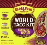 Old El Paso Korean Inspired BBQ World Taco Dinner Kit