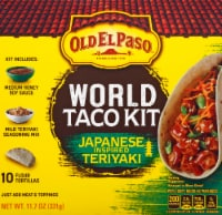 Old El Paso Japanese Inspired Teriyaki World Taco Dinner Kit