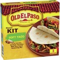 Old El Paso Soft Taco Dinner Kit 10 Count