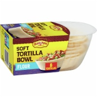 Old El Paso Soft Flour Tortilla Taco Bowls 8 Count