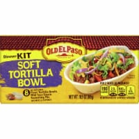 Old El Paso Soft Tortilla Bowl Dinner Kit 8 Count