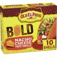 Old El Paso Stand 'N Stuff Bold Nacho Cheese Flavored Taco Shells 10 Count