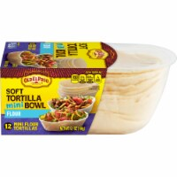 Old El Paso Mini Soft Flour Tortilla Taco Bowls 12 Count