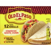 Old El Paso Crunchy White Corn Taco Shells 12 Count