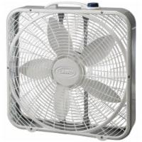 Lasko Premium Box Fan - White/Gray - 20 in