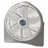 Lasko Cyclone Pivoting Floor Fan - White/Gray - 23.18 in