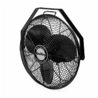 "Air King 18"" 1/6 HP 3-Speed Indoor Industrial Enclosed Pivoting Multi-Mount Fan"